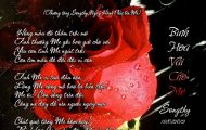 Thơ Tranh: Bình Hoa Vải Cho Mẹ