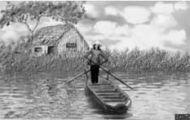 Cô Lái Đò Bên Bến Sông