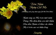 Thơ Tranh: Tròn Năm Ngày Giỗ Mẹ