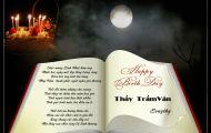 Thơ Tranh: Happy Birthday Thầy Trầm Vân