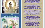Thơ Tranh: Vu Lan Nhớ Bóng Mẹ Hiền